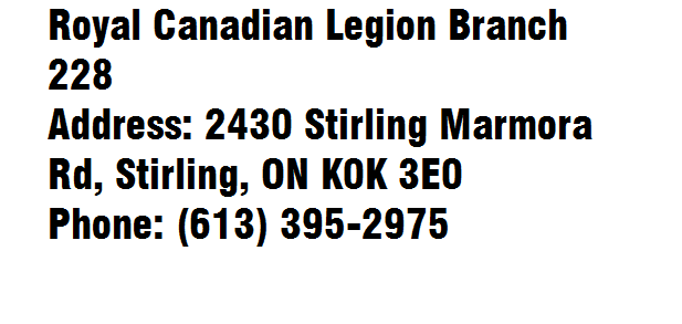 Royal Canadian Legion Branch 228
