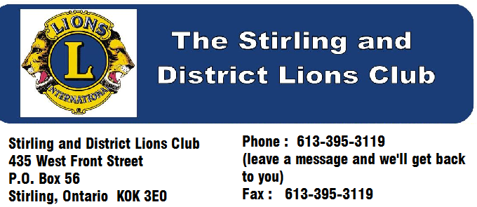 Stirling District Lions Club