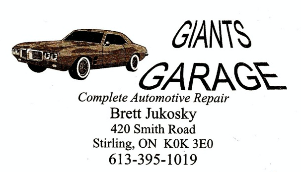 Giants Garage
